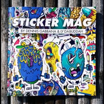 STICKER MAG by Dennis Gabbana & Ly Da Buddah