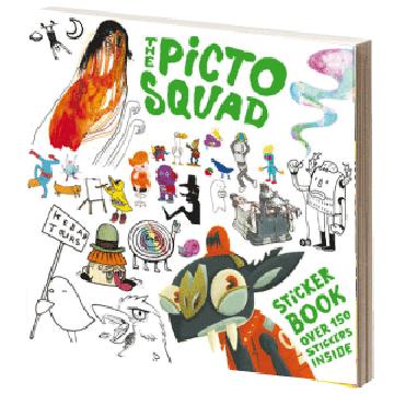 Pictoplasma Alumni Special: The Pictosquad StickerBook
